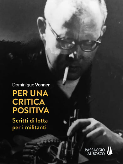 copertina PER UNA CRITICA POSITIVA